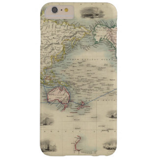 The World On Mercator's Projection Barely There iPhone 6 Plus Case