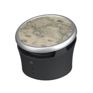 The World On Mercator's Projection Bluetooth Speaker