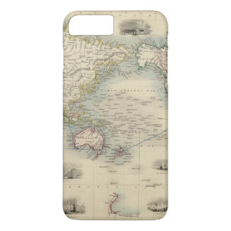 The World On Mercator's Projection iPhone 8 Plus/7 Plus Case