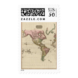The World on Mercator's projection, western part Postage