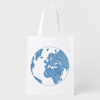 THE WORLD REUSABLE GROCERY BAG