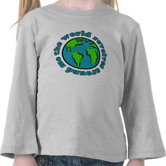The World Revolves Around Me T Shirt