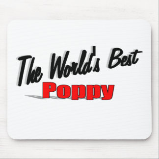 The World s Best Poppy Mouse Pad