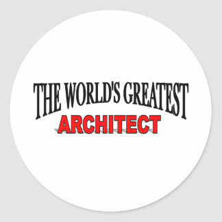 The World s Greatest Architect Sticker