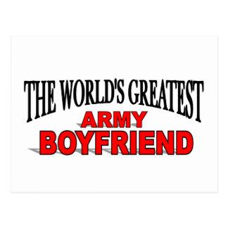 The World s Greatest Army Boyfriend Postcard