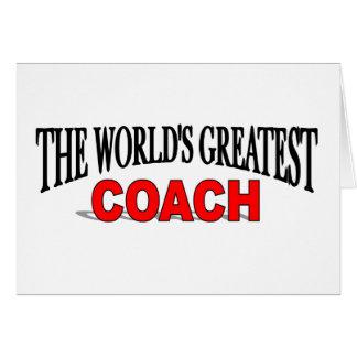 The World s Greatest Coach Cards