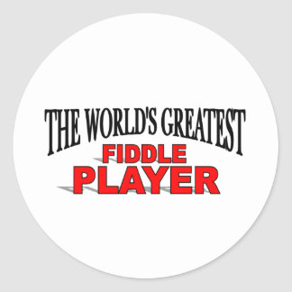 The World s Greatest Fiddle Player Sticker