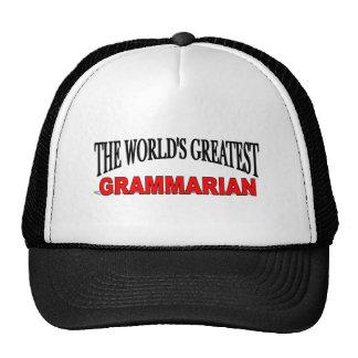 The World s Greatest Grammarian Trucker Hats