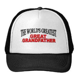 The World s Greatest Great Grandfather Mesh Hats