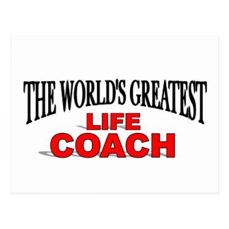 The World s Greatest Life Coach Postcard