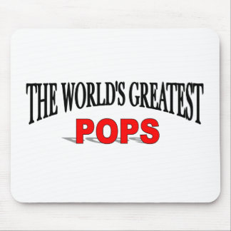 The World s Greatest Pops Mouse Mat