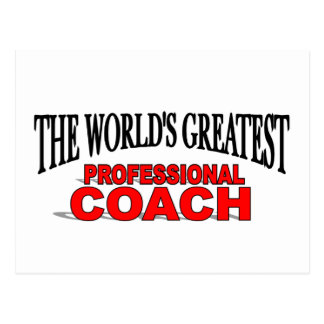The World s Greatest Professional Coach Post Cards
