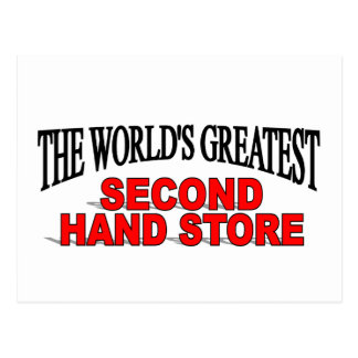 The World s Greatest Second Hand Store Post Card