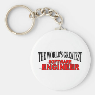The World s Greatest Software Engineer Key Chains