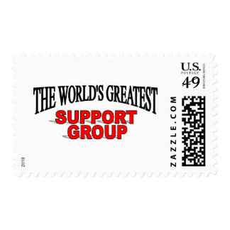 The World&'s Greatest Support Group Stamps