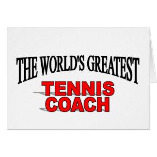 The World s Greatest Tennis Coach Cards
