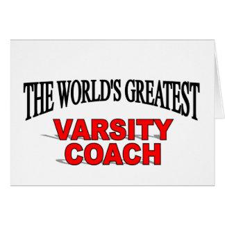 The World s Greatest Varsity Coach Card