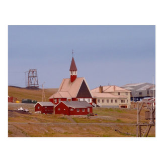 The world s northernmost church post card