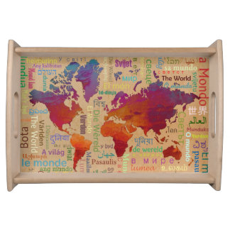 The World Serving Tray