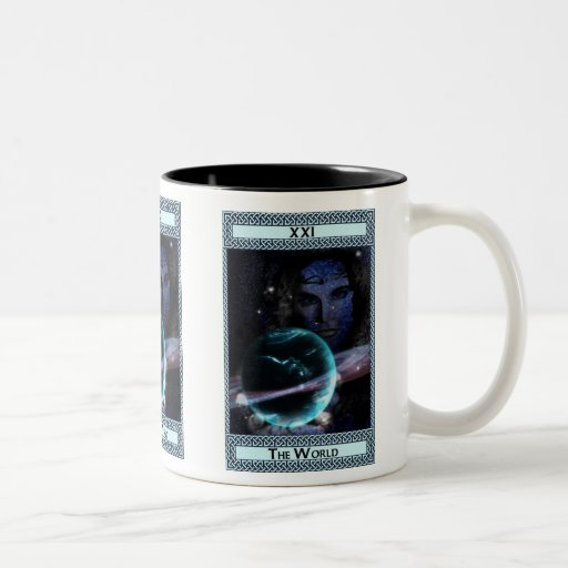 The World Tarot Card Art Coffee Mug