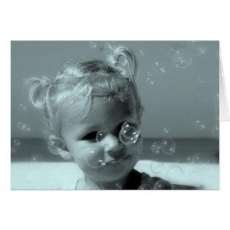 The world through a child's eyes card