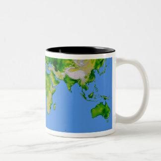 The World Two-Tone Coffee Mug