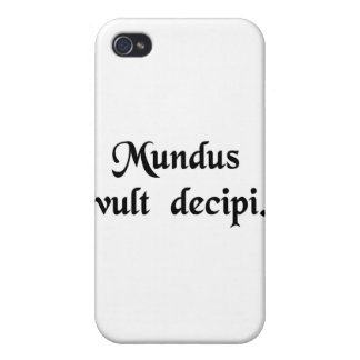 The world wants to be deceived. iPhone 4/4S cover