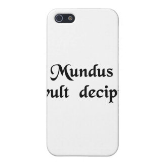 The world wants to be deceived. covers for iPhone 5