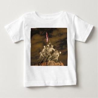 The World War II Iwo Jima Memorial Arlington VA Baby T-Shirt