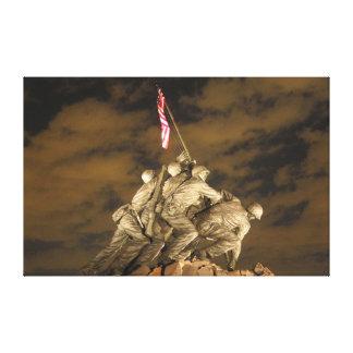 The World War II Iwo Jima Memorial Arlington VA Canvas Print