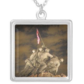 The World War II Iwo Jima Memorial Arlington VA Pendant