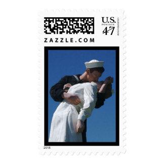 The World War II Kiss Postage