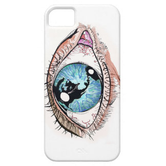 The World Was In Her Eye iPhone 5 Case