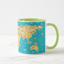 The World's Animals Mug