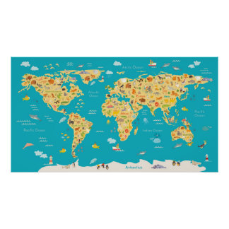 The World's Animals Poster