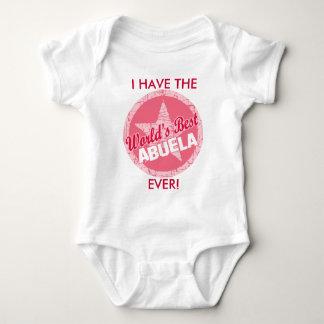 The Worlds Best Abuela Baby Bodysuit