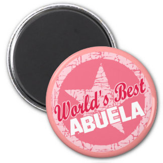 The Worlds Best Abuela Magnet