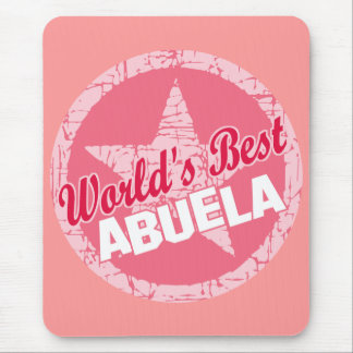 The Worlds Best Abuela Mouse Pad