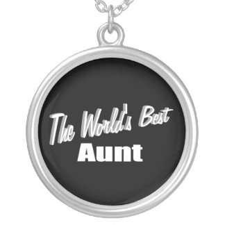 The World's Best Aunt Personalized Necklace