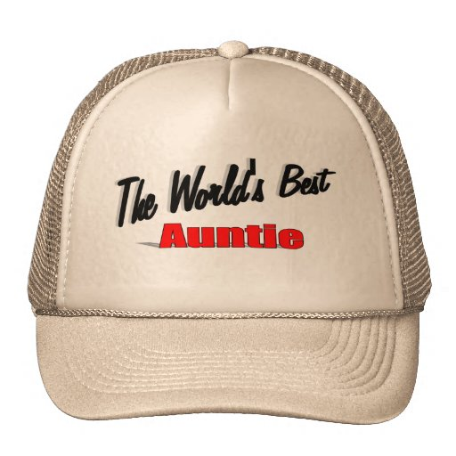 The World's Best Auntie Hats