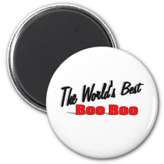 The World's Best Boo Boo 2 Inch Round Magnet