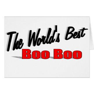 The World's Best Boo Boo Card