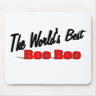 The World's Best Boo Boo Mouse Pad