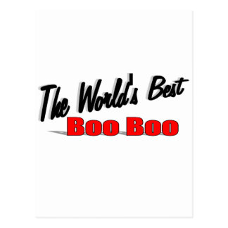 The World's Best Boo Boo Postcard