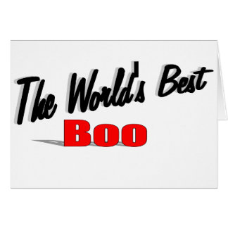 The World's Best Boo Card