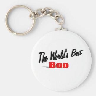 The World's Best Boo Keychain