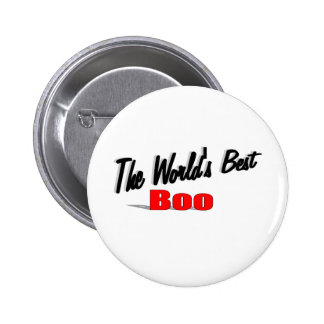 The World's Best Boo Pinback Button