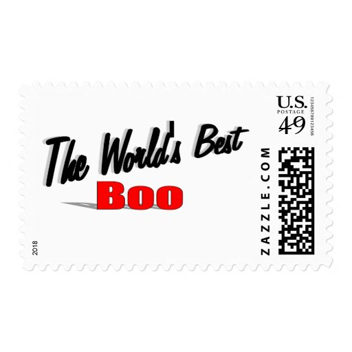The World's Best Boo Stamps