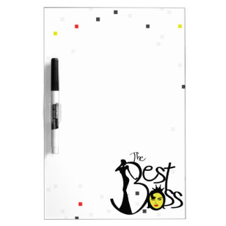The World's Best Boss lady Dry Erase Boards
