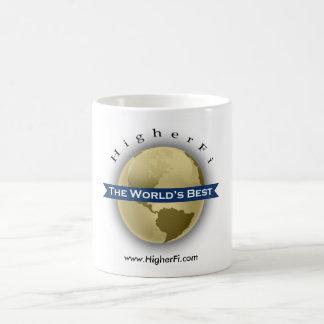 The World's Best by HigherFi Classic White Coffee Mug